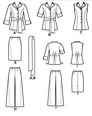 Top 25 ideas about Plus Size Sewing Patterns on Pinterest