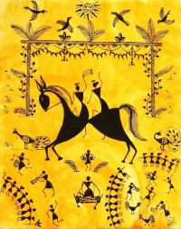 17 Best images about Indian Folk Art - Warli (Worli ...