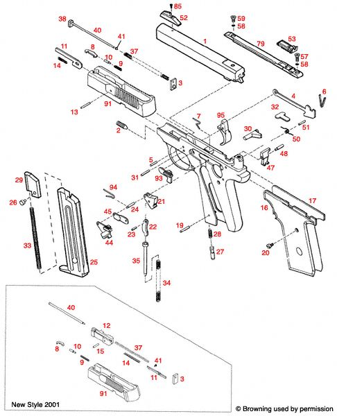 glock schematic diagram singer electric furnace wiring browning on pinterest