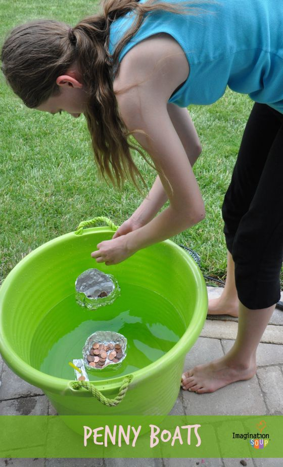 penny boats – Summer Learning with PBS Kids