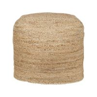 Jute Pouf | Deer Valley house | Pinterest | Jute and Poufs