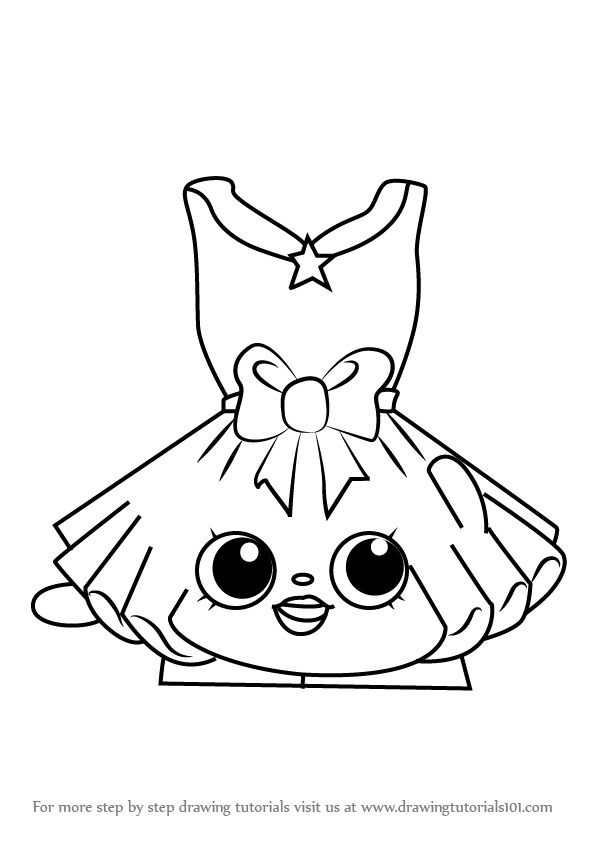 Learn How To Draw Suzie Sushi From Shopkins Shopkins