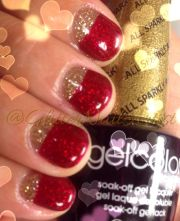 reverse french manicure opi gelcolor