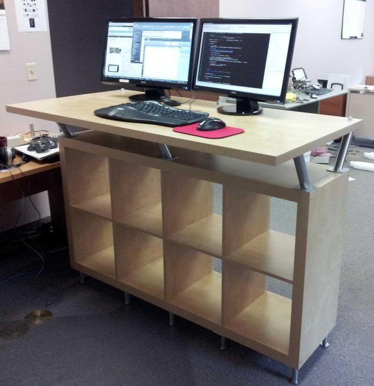 Best 25 Standing desks ideas on Pinterest  Sit stand