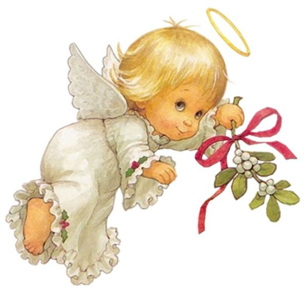 christmas baby angel clip art