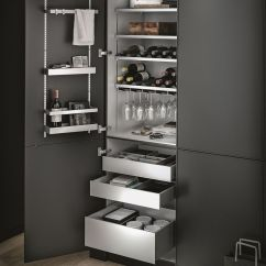 How To Create A Pantry In Small Kitchen Remodel Checklist Aluminium Accessory Multimatic By Siematic ...