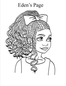 1000+ images about natural hair coloring books on Pinterest