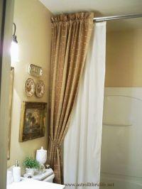 25+ best ideas about Shower rod on Pinterest   Bathroom ...