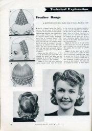 modern beauty magazine . feather
