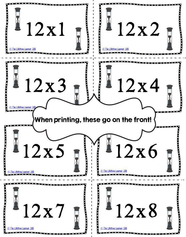 1000+ images about Multiplication facts on Pinterest