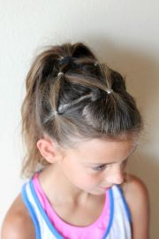 ideas easy ponytail