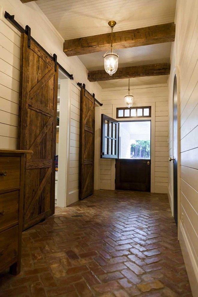 Spectacular Barn Doors Decorating Ideas For Ravishing Entry Farmhouse Design Ideas With