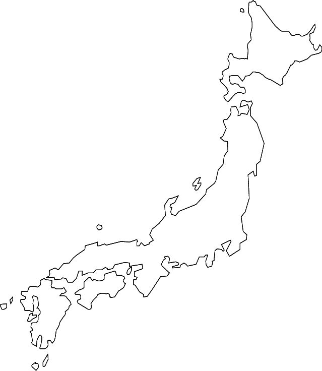 abcteach Printable Worksheet: Japan Theme Unit: Blank Map
