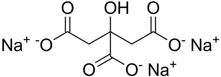 Sodium citrate may refer to any of the sodium salts of