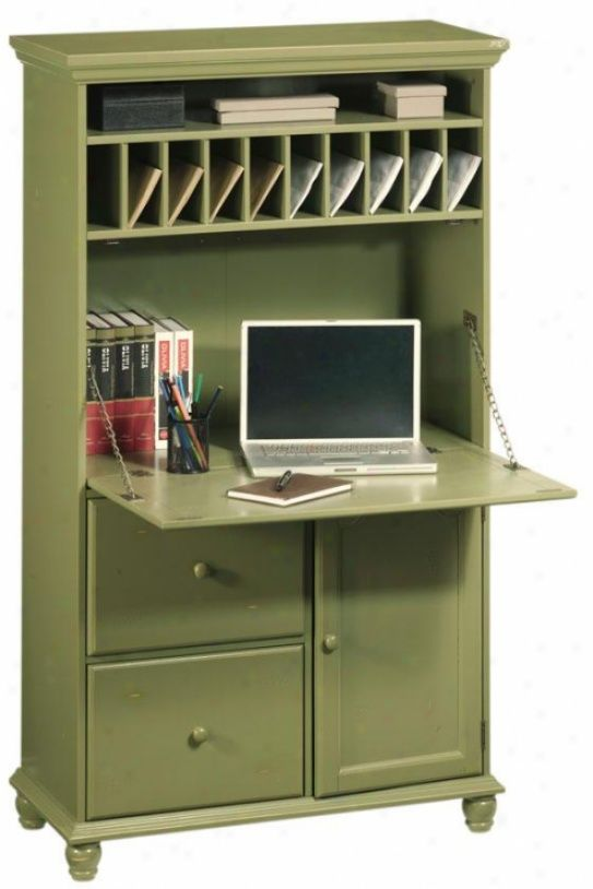 Love this desk I really like the mail slots  Interior