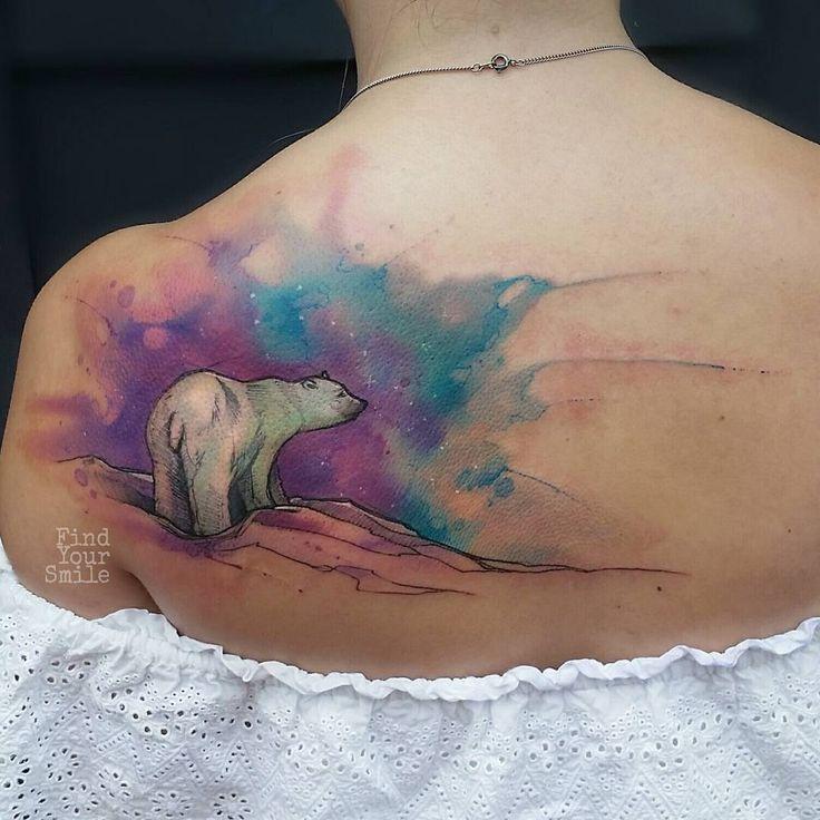 25+ Best Ideas About Polar Bear Tattoo On Pinterest Bear