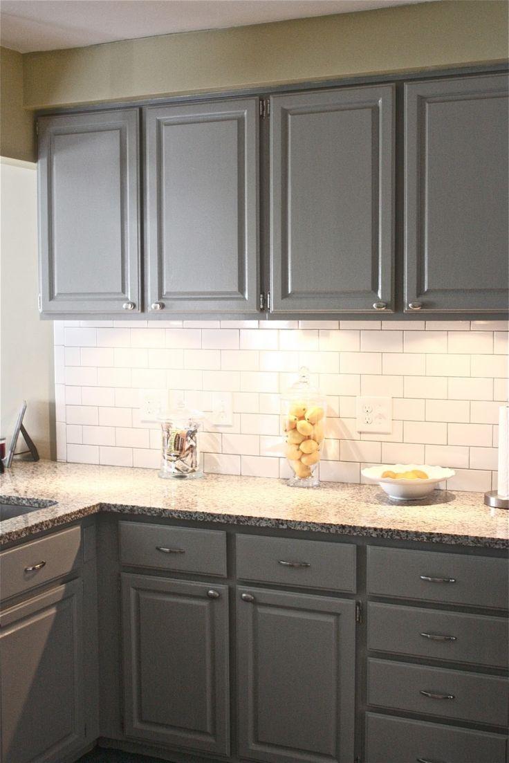 Kitchen Yellow Grey Decor And