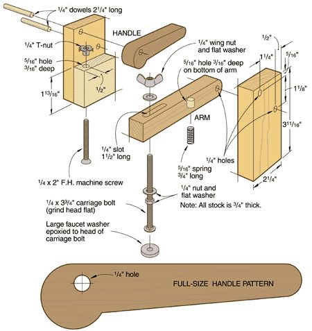 Luthier Clamps How To Make