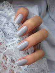 lovely soft dove grey nail polish