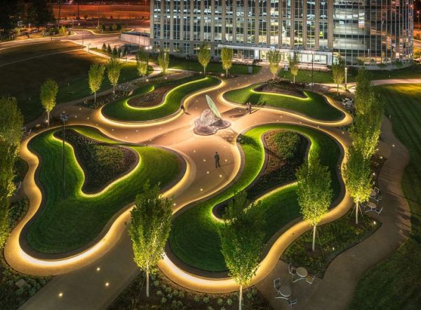 organic landscape #design receptor