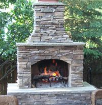 "48"" Contractor Series Outdoor Fireplace Kit"