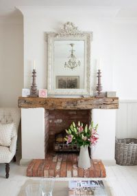 25+ best ideas about Shabby Chic Mantle on Pinterest ...