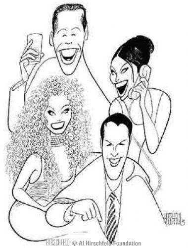 17 Best images about Al Hirschfeld Caricatures on