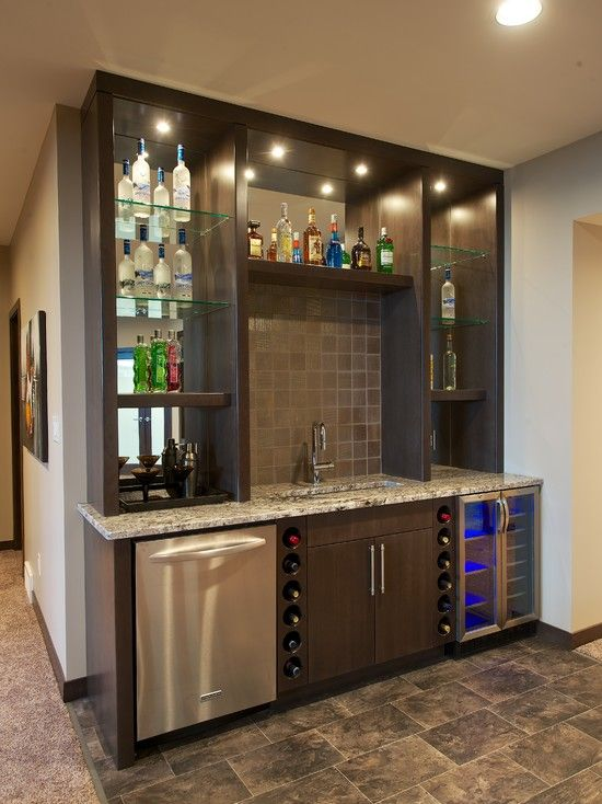1000 ideas about Basement Bars on Pinterest  Basement