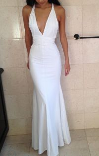 Best 25+ White Prom Dresses ideas on Pinterest