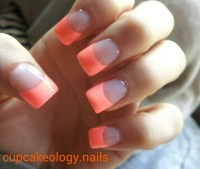 Flip flop fantasy French tip nails | My nail designs ...