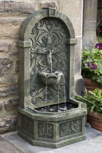 Best 20+ Outdoor Wall Fountains ideas on Pinterest | Wall ...