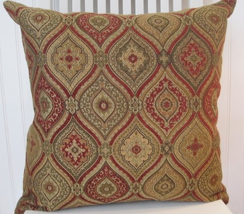 Chenille Decorative Pillow Cover 20 x 20 Throw Pillow