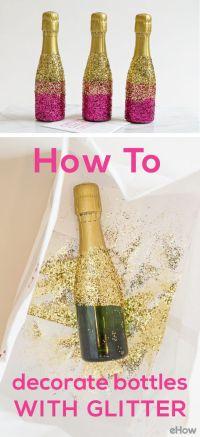 25+ best ideas about Glitter champagne bottles on ...