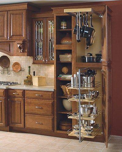 17 Best ideas about Kitchen Cabinet Storage on Pinterest