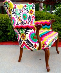 Colorful chair by EmileyMichelle on Etsy | Decorating ...