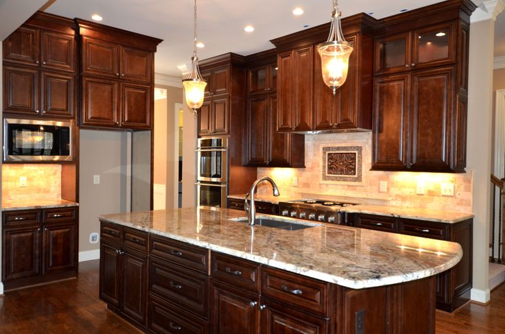 Chocolate Kitchen Cabinets