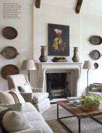 Jim Howard, living room, Veranda magazine | The Eclectic ...
