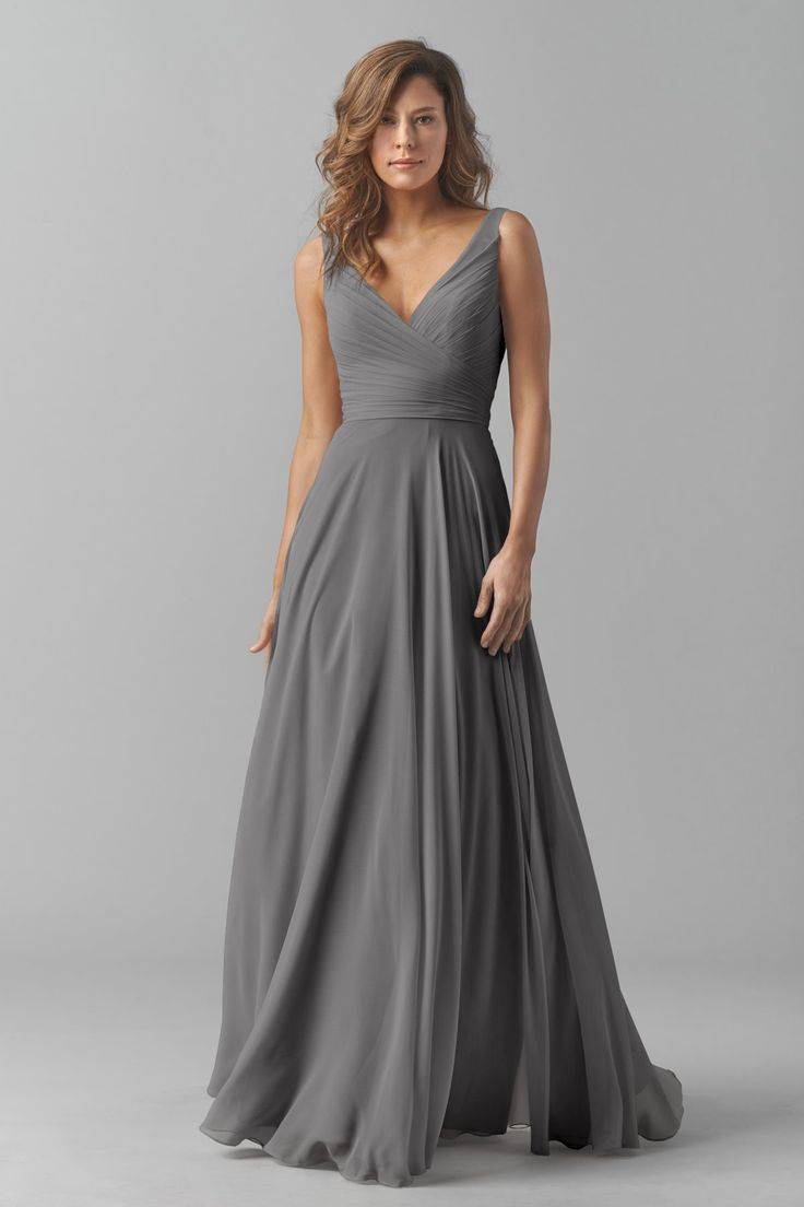 25 best ideas about Chiffon bridesmaid dresses on Pinterest  Long chiffon bridesmaid dresses