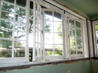 bi-fold windows with grills. replace large picture window ...