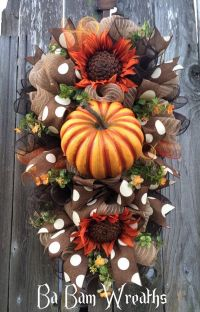 Best 25+ Fall swags ideas only on Pinterest | Fall wreaths ...