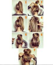 easy hairstyles work