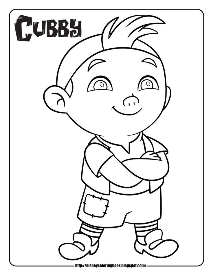 Disney Coloring Pages and Sheets for Kids: Jake and the