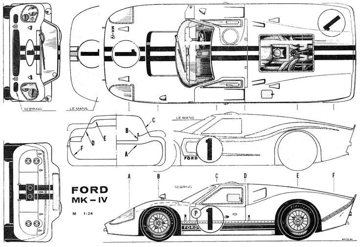 275 bästa bilderna om Racing Car blueprint på Pinterest