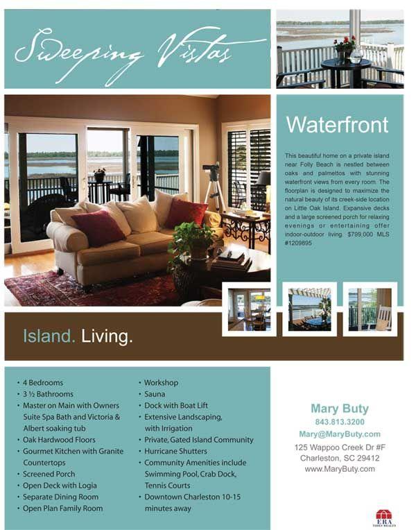 Realtor Flyer ER Promo Pinterest Brochure Examples