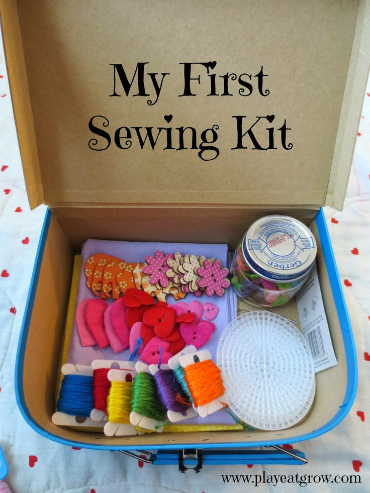 Play Eat Grow DIY First Sewing Kit Great Gift Idea For