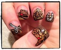 Western Nails | cute nails | Pinterest | Western Nails ...