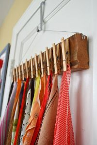 25+ Best Ideas about Scarf Display on Pinterest | Clothing ...