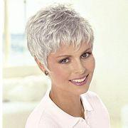 patients wigs short monofilament