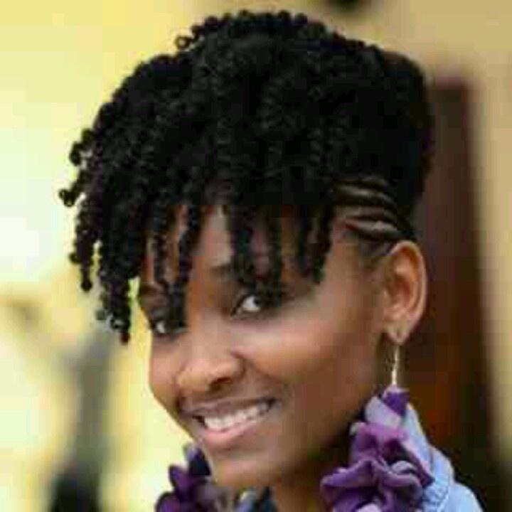 African Updo Cornrows Damen Hair