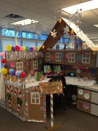 25+ best ideas about Christmas cubicle decorations on ...